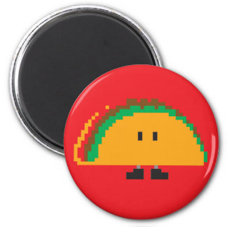 Taco Magnet - Red