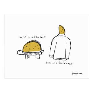 taco shell postcard