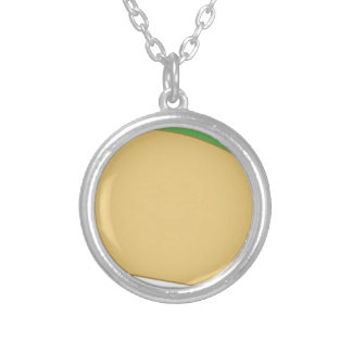 Taco Silver Plated Necklace