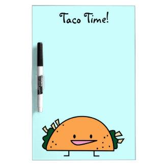 Taco Time! Dry Erase Board