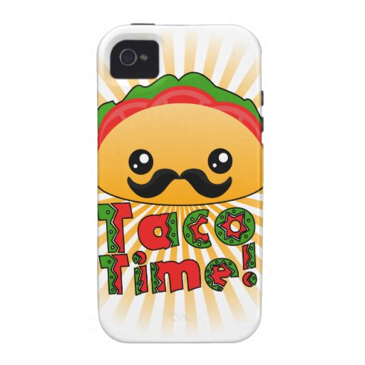 Taco Time iPhone 4/4S Covers