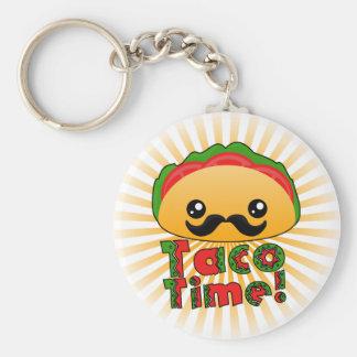 Taco Time Keychain