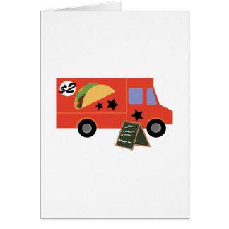 Taco Truck Card