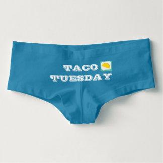 Taco Tuesday Boy Shorts Hot Shorts