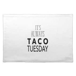 TACO TUESDAY PLACEMAT