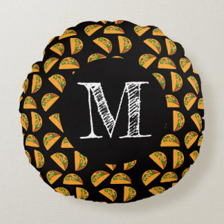 Taco Tuesday Round Pillow
