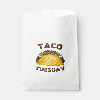 Taco Tuesday Tex Mex Mexican Food Cinco de Mayo Favour Bag