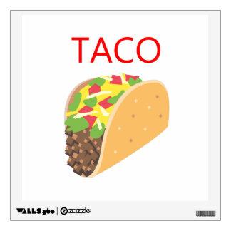 Taco Wall Sticker