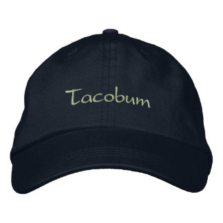 Tacobum Embroidered Hat
