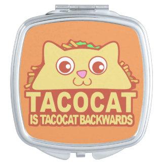 Tacocat Backwards II Compact Mirror