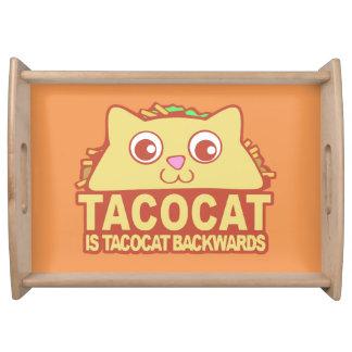 Tacocat Backwards II Serving Tray