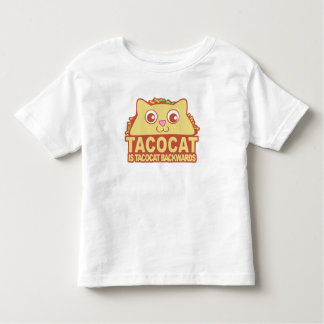 Tacocat Backwards II Toddler T-shirt