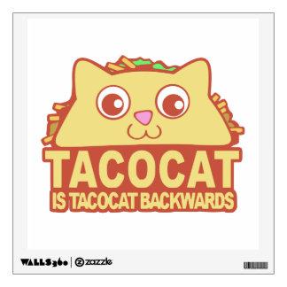 Tacocat Backwards II Wall Sticker