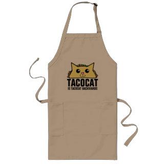 Tacocat Backwards Long Apron
