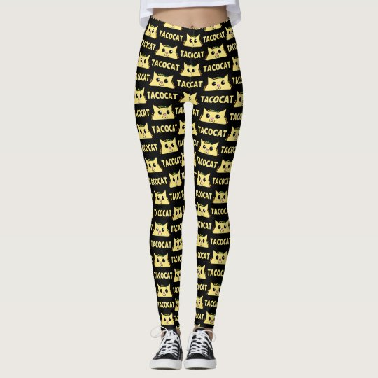 Tacocat Patterned Leggings