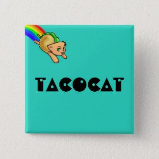 Tacocat Square Button