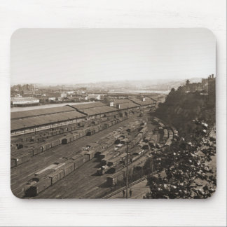Tacoma Moon Yard and Tideflats Mouse Pad
