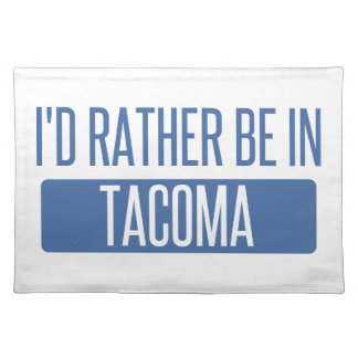 Tacoma Placemat