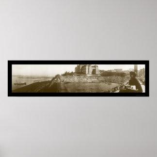 Tacoma WA Stadium Day Photo 1913 Poster