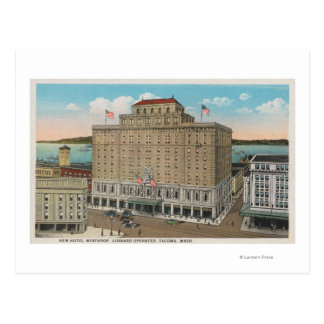 Tacoma, WA - View of Hotel Winthrop Postcard