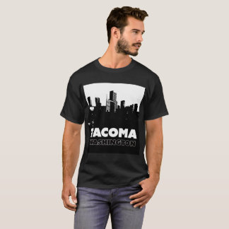 Tacoma Washington City Skyline City of Destiny T T-Shirt
