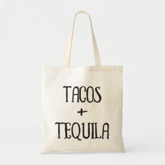 Tacos and Tequila Party Girl Tote Bag