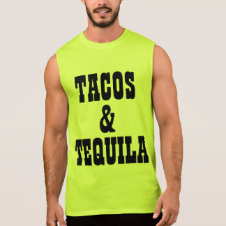 Tacos And Tequila Sleeveless Shirt