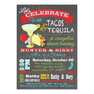 Tacos and Tequilla couples baby shower for Kathy Card