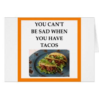 TACOS CARD