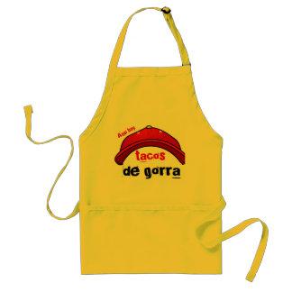 tacos de gorra apron