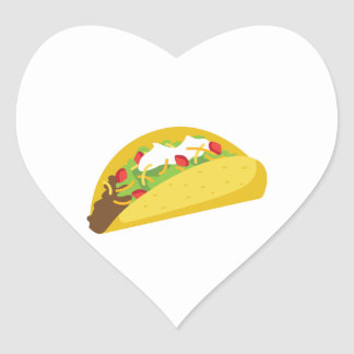 Tacos Heart Sticker
