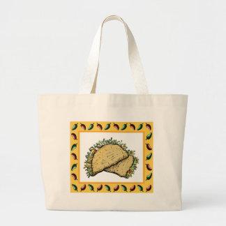 Tacos Jumbo Tote Bag