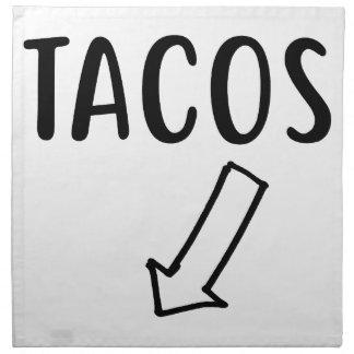 Tacos Napkin