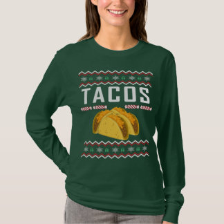 Tacos Ugly Christmas Sweater