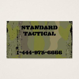 Tactical Camo Business Card