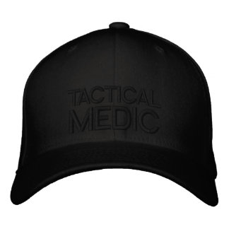 Tactical Medic Low Profile Flexfit Cap Embroidered Hat