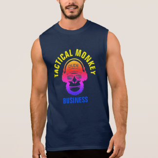 TACTICAL MONKEY BUSINESS SLEEVELESS SHIRT
