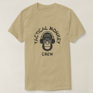 TACTICAL MONKEY CREW T-Shirt