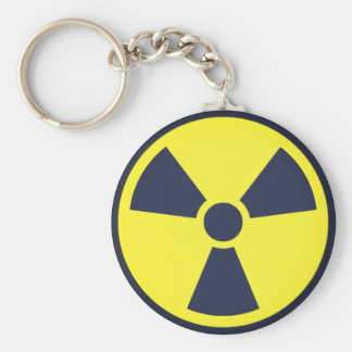 Tactical Nuke Basic Round Button Keychain