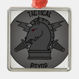 Tactical PSYOP front.png Silver-Colored Square Ornament