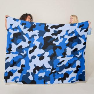 Tactical Winter Hunter Satin Camouflage Pattern Fleece Blanket