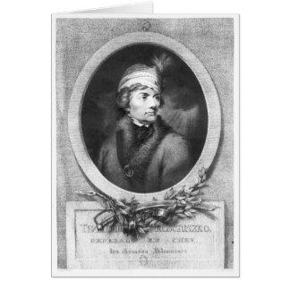 Tadeusz Kosciuszko , engraved by Christiaan Card
