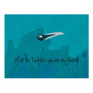 Tadpole Postcard
