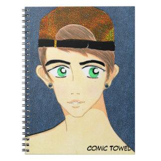 Tae Hee Spiral Notebook