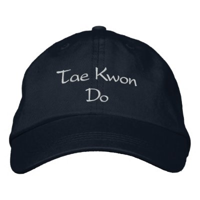 Tae Kwon Do Hat Embroidered Hat