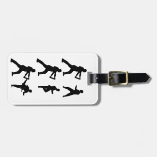 Tae Kwon-Do Luggage Tag