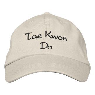 Tae Kwon Do - Stone Baseball Cap