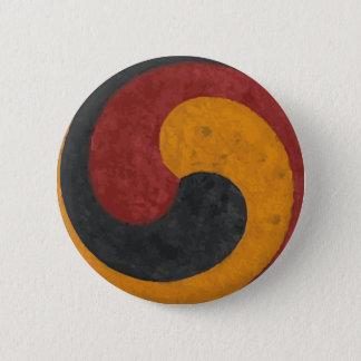TaeGuk 2 Inch Round Button