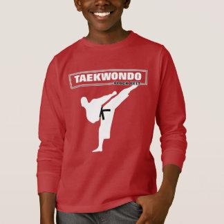 Taekwondo Black Belt Martial Arts Cool Graphic T-Shirt