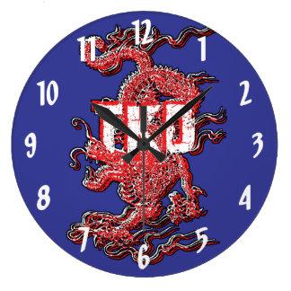 Taekwondo Dragon Clocks
